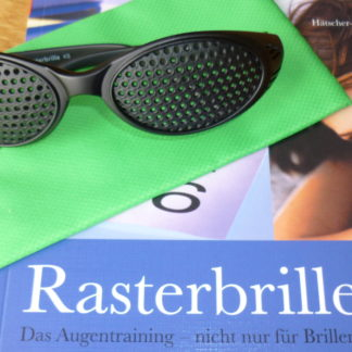 Rasterbrille mit Rundlochung